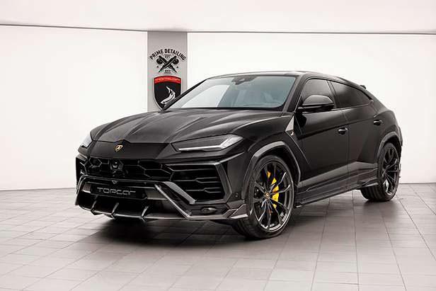 Новый Lamborghini Urus. Тюнинг от TopCar