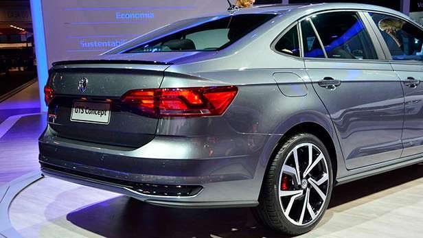 Volkswagen GTS Concept - седан Polo