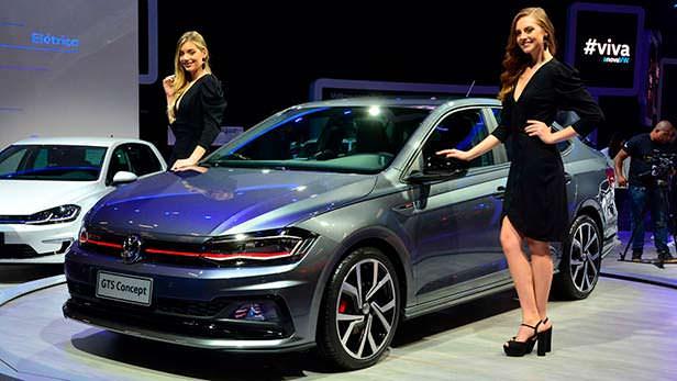 Седан Volkswagen GTS Concept 2018