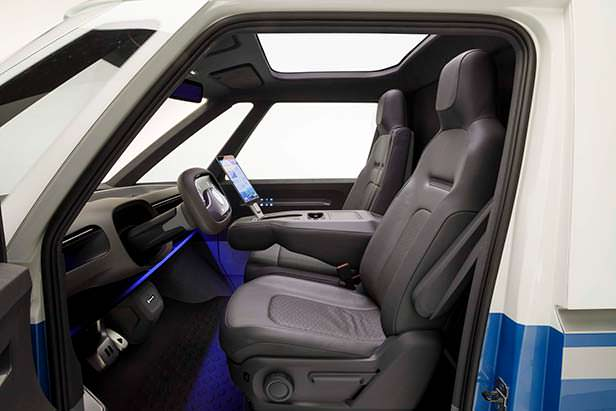 Фото салона Volkswagen I.D. Buzz Cargo