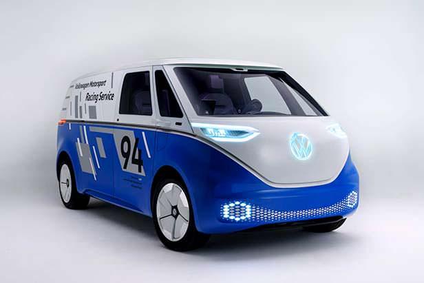 Сервисный электро-фургон Volkswagen I.D. Buzz Cargo