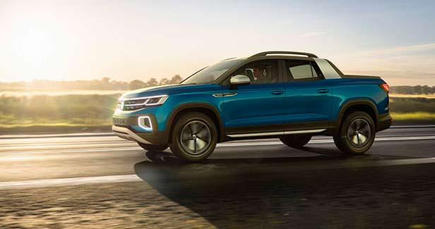Новый Пикап Volkswagen Tarok Concept 2018