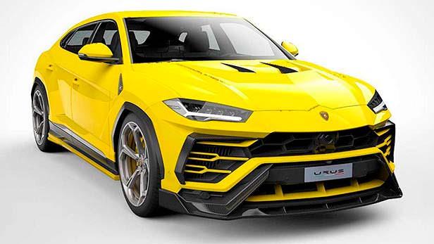 Lamborghini Urus. Тюнинг от Vorsteiner