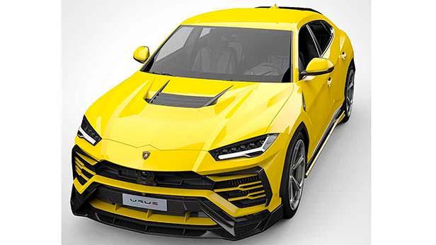 Lamborghini Urus в обвесе от Vorsteiner