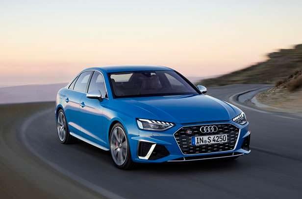 Новая Audi S4 2020