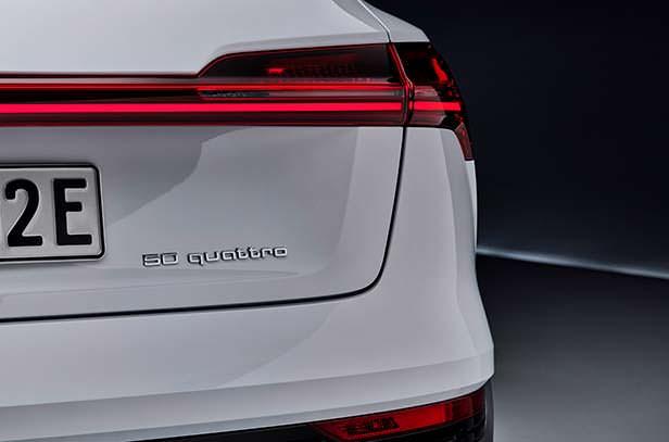 Новая Audi e-tron 50 quattro