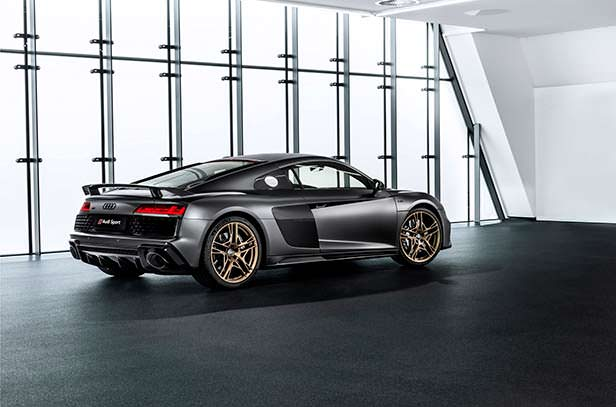 Спецверсия Audi R8 Decennium