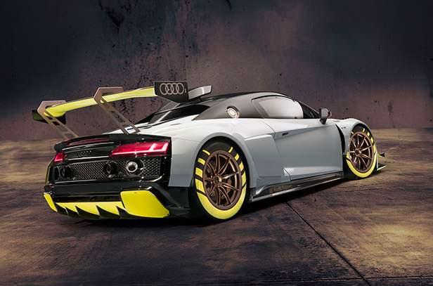Гоночная Audi R8 LMS GT2
