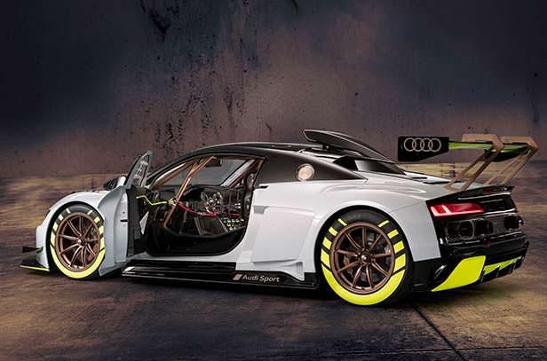 Гоночный болид Audi R8 LMS GT2