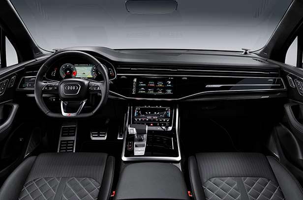 Фото салона Audi SQ7