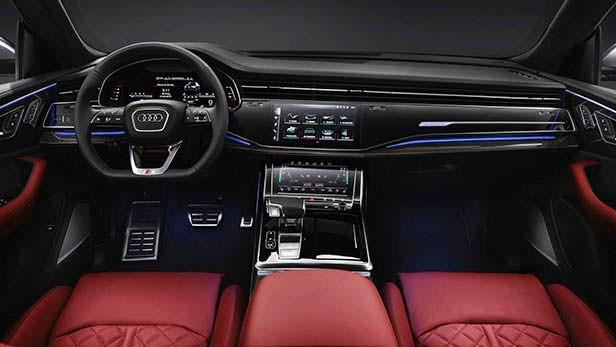 Фото салона Audi SQ8 2020 года