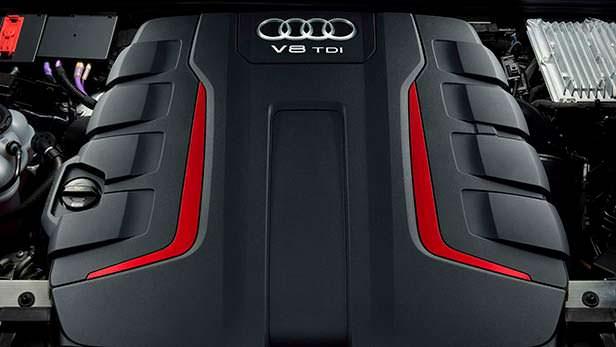 Двигатель V8 TDI под капотом Audi SQ8 2020