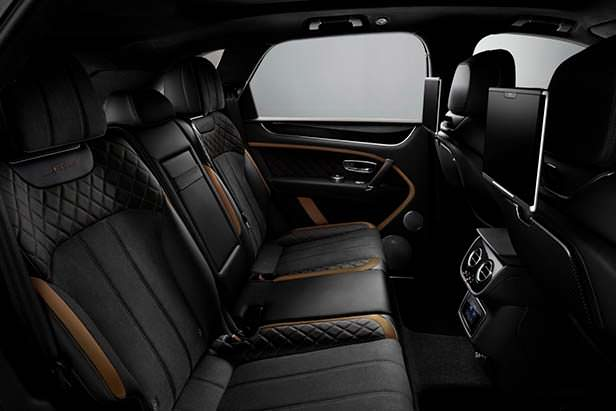 Задний диван Bentley Bentayga Speed