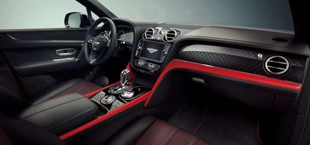 Фото салона Bentley Bentayga V8 Design