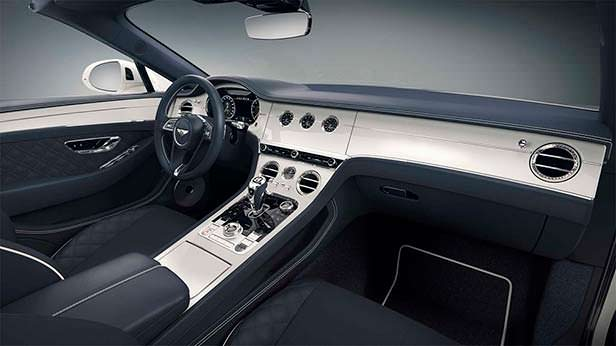 Фото салона Bentley Continental GT Convertible Bavaria Edition