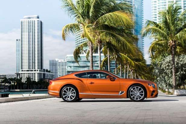 Новый 2020 Bentley Continental GT V8