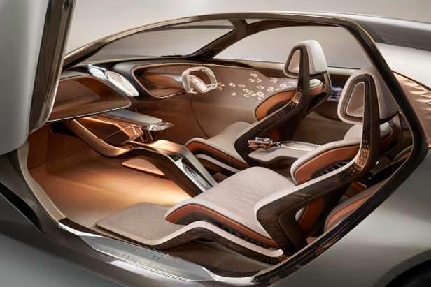 Фото салона Bentley EXP 100 GT