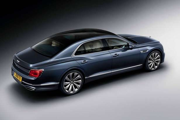 Новое поколение Bentley Flying Spur 2020