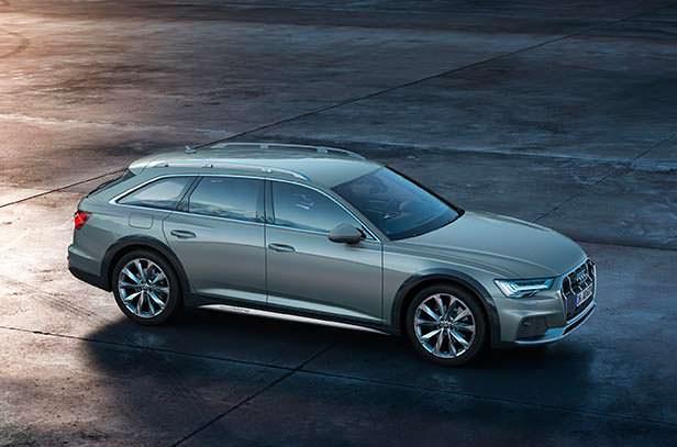 Внедорожный универсал Audi A6 allroad нового поколения