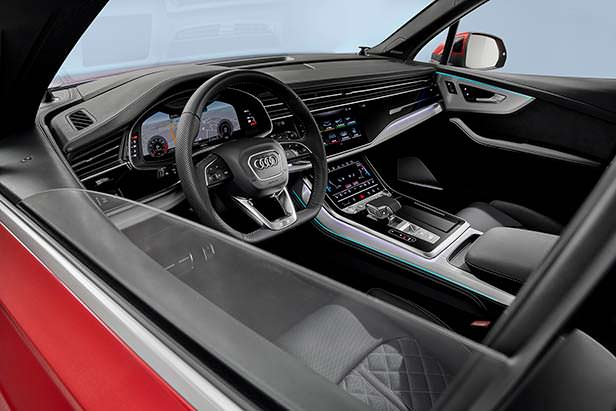 Салон Audi Q7 2020