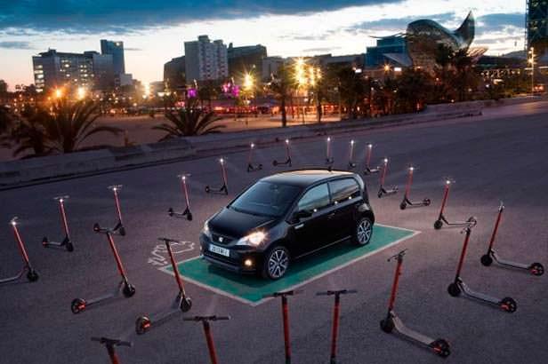 Компактный электрокар SEAT Mii electric