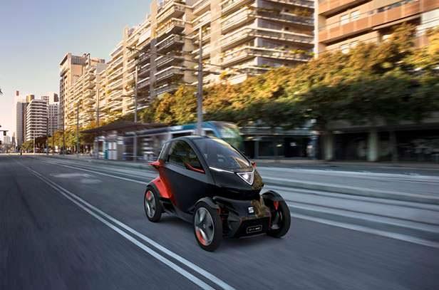 Электро квадрицикл SEAT Minimó