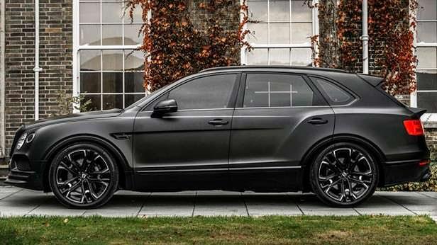 Черный Bentley Bentayga от Kahn Design