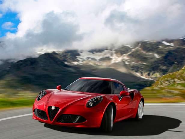 Фото   Alfa Romeo 4C. 2013 год