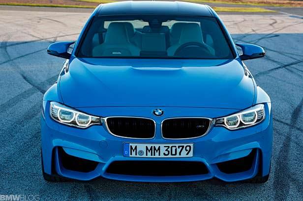 Спортивный седан BMW M3 F80