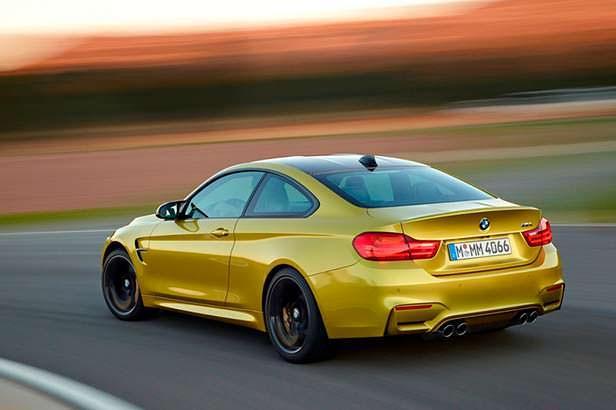 Спортивное купе BMW M4 F82