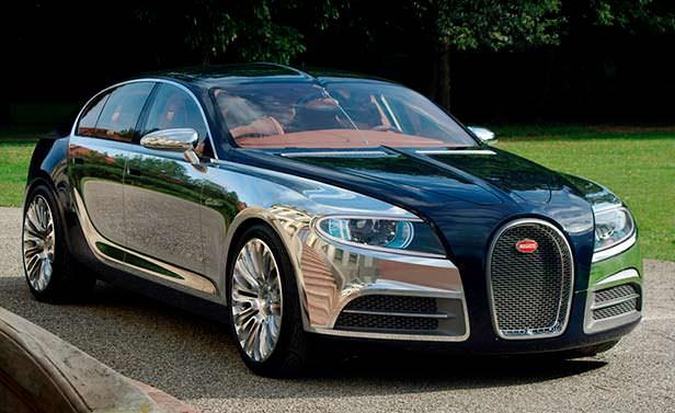 Седан Bugatti утратил шанс стать серийным