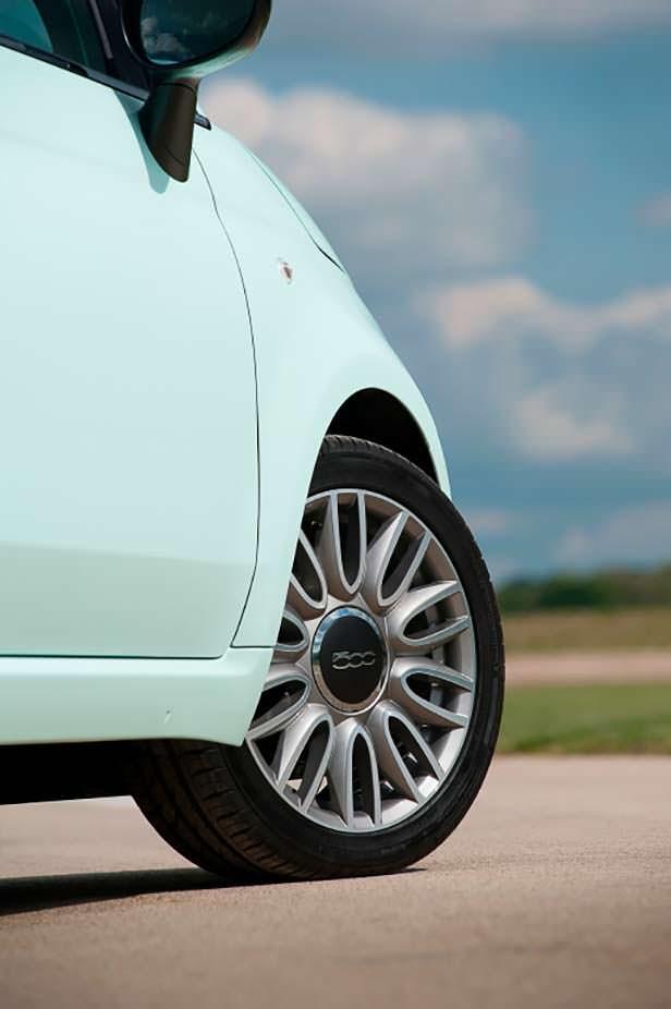 Fiat 500: 16-дюймовые колеса