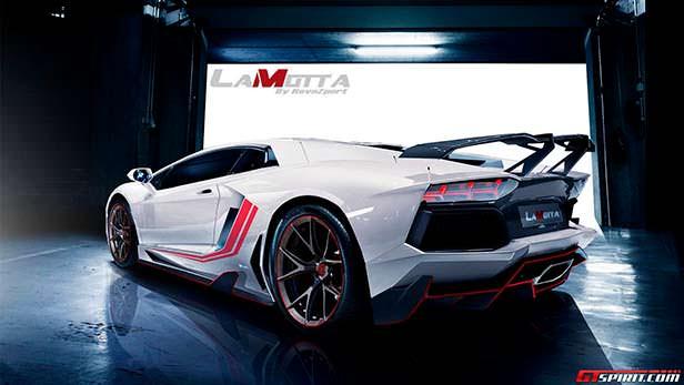 Lamborghini Aventador LaMotta