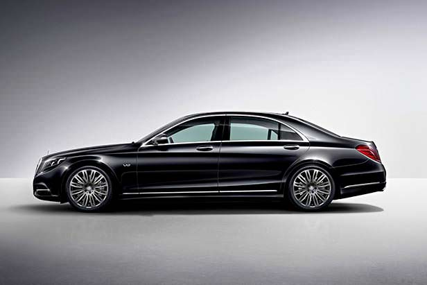 Новый Mercedes-Benz S600