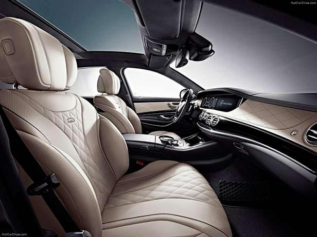 Салон Mercedes S600
