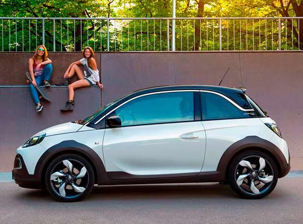 Внедорожный хэтчбек Opel Adam Rocks