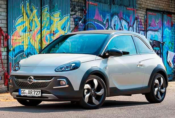 Внедорожный Opel Adam Rocks