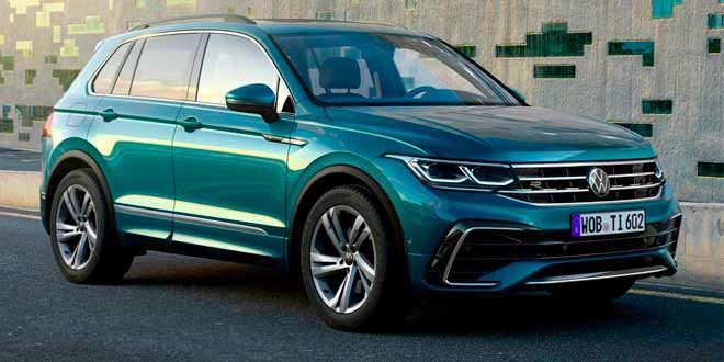 Volkswagen Tiguan II по плану обновился в 2020 году | фото, видео