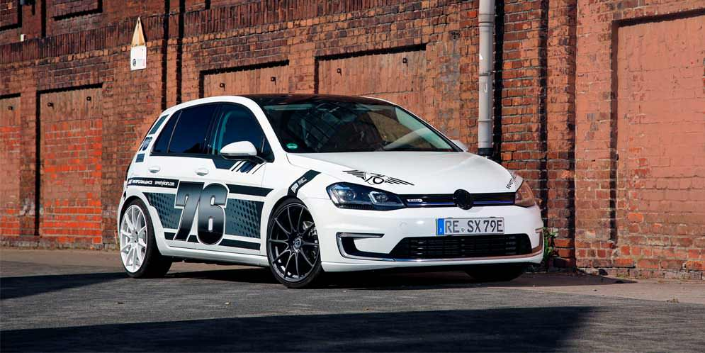 Комплексный тюнинг VW e-Golf от xXx Performance   фото