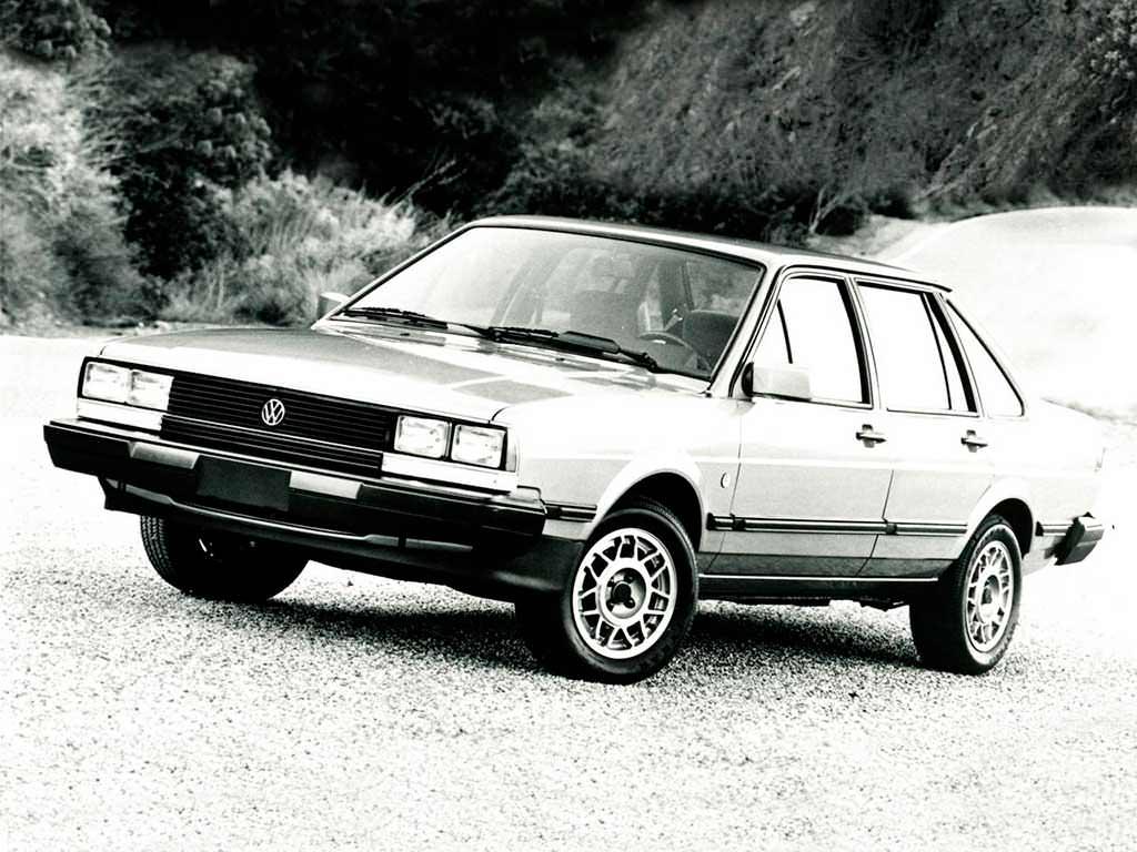 Новый Volkswagen Quantum 1982. Цена в США $11 070 (с учётом инфляции $27 857,28)