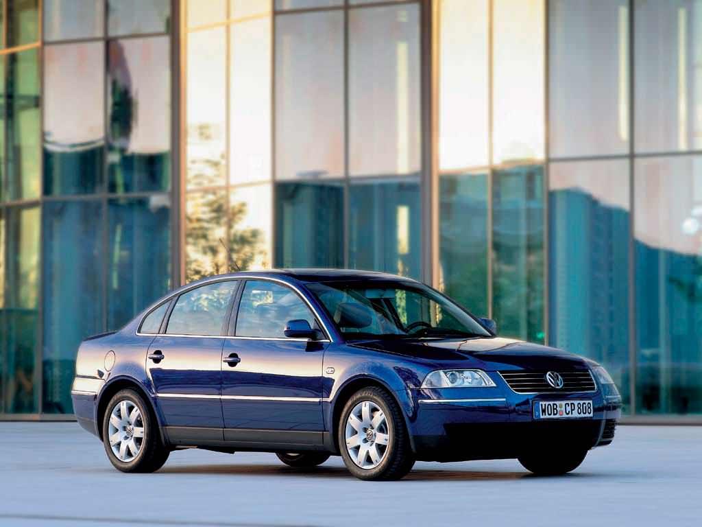 Новый Volkswagen Passat GLS 2001. Цена в США $21 750 (с учётом инфляции $29 823,54)