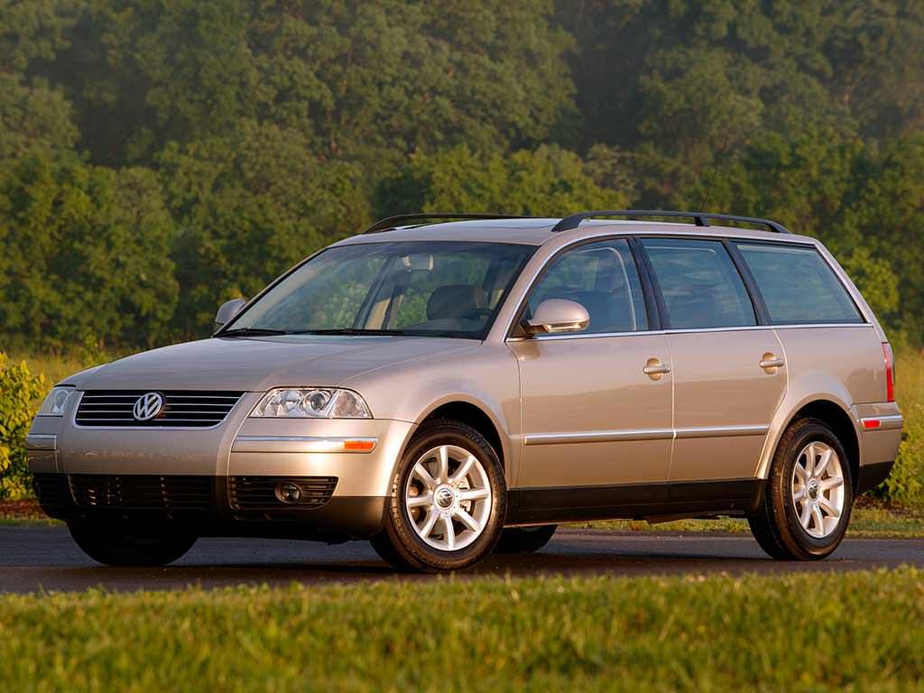 Новый Volkswagen Passat GL TDI (A5) 2005. Цена в США $24 360 (с учётом инфляции $30 289,60)