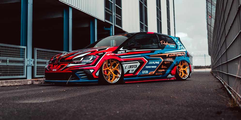 Тюнинг VW Golf GTI Clubsport от Yido Performance | фото