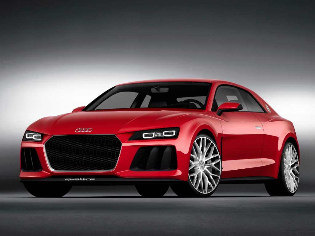 Купе Audi Sport quattro laserlight с лазерными фарами