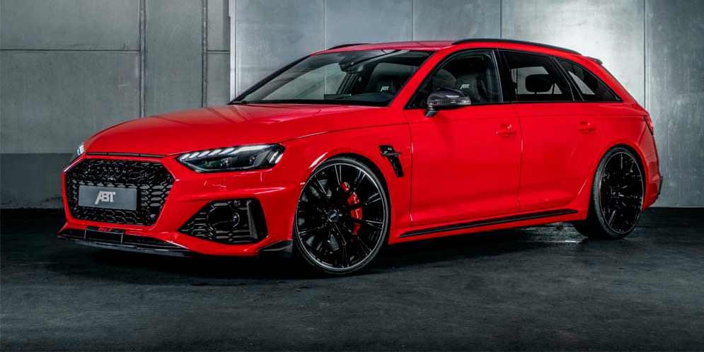 ABT сделал Audi RS4 Avant интересней в новом тюнинге   фото