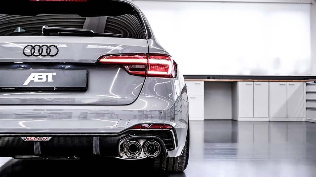 Выхлопные трубы Audi RS4-R от ABT Sportsline