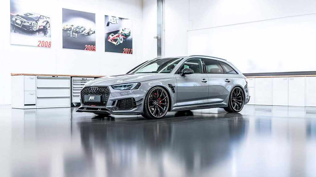 Супер-универсал Audi RS4-R от ABT Sportsline