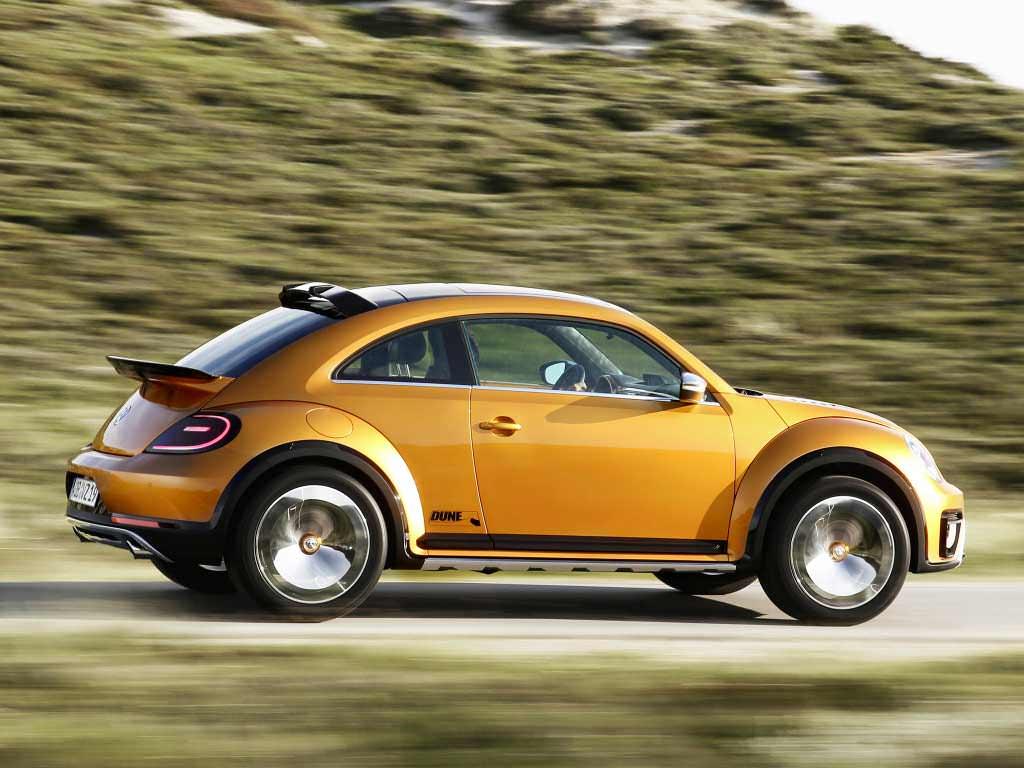 Внедорожный хэтчбек VW Beetle Dune Concept 2014 года