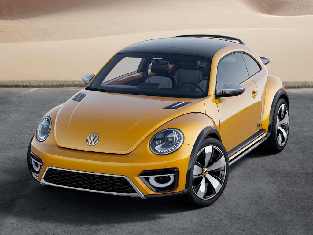 Volkswagen Beetle Dune Concept. 2014 год
