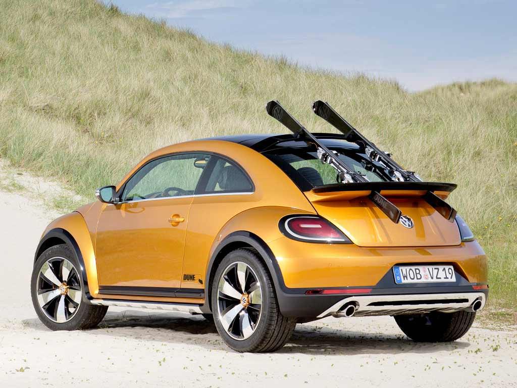Volkswagen Beetle Dune Concept с креплениями для перевозки лыж
